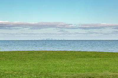Photograph - Toronto Across The Lake by Jack R Perry