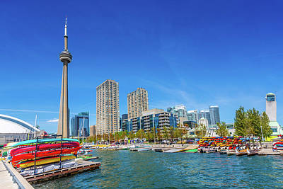 Photograph - Toronto Harbour Front In Summer Canada by Mlenny