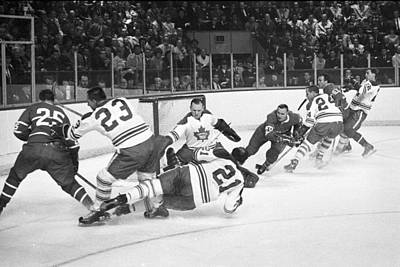 Photograph - Toronto Maple Leafs V Montreal Canadiens by Denis Brodeur