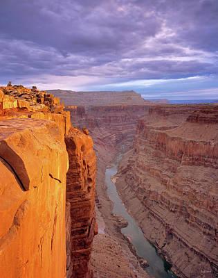 Photograph - Toroweap Overlook Cliff by Leland D Howard