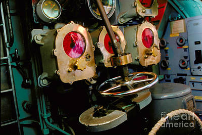 Red Roses - Torpedo Room in the USS Ling SS-297 by Wernher Krutein