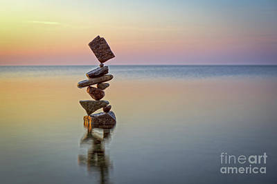Sculpture - Total Zen by Pontus Jansson