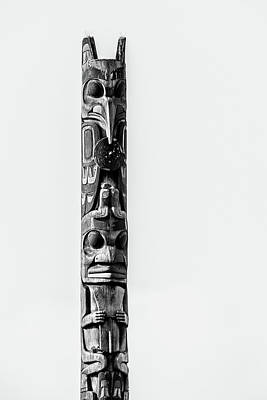 Photograph - Totem Pole by Brett Nelson