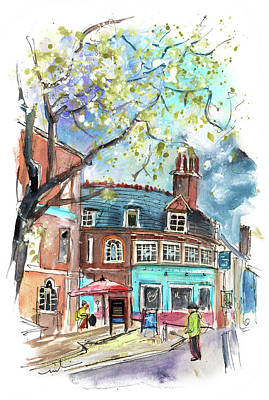 Painting - Totnes 03 by Miki De Goodaboom