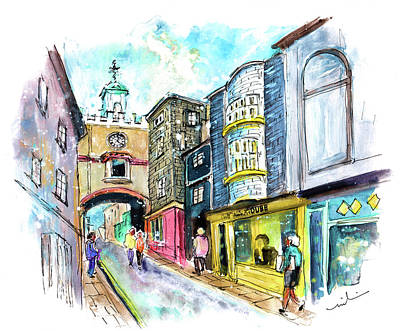 Painting - Totnes 04 by Miki De Goodaboom
