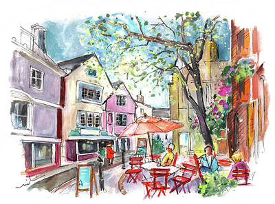 Painting - Totnes 05 by Miki De Goodaboom