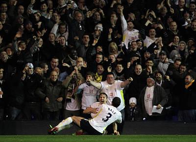 Scoring Photograph - Tottenham Hotspur V Bolton Wanderers - by Hamish Blair