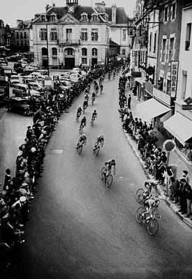 Photograph - Tour De France On July 1958 by Keystone-france