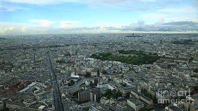 Photograph - Tour Montparnasse Paris by Benny Marty