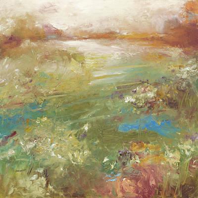 Painting - Tour of my Garden by Nan Davis