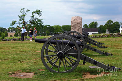 Photograph - Touring The Gettysburg Battlefield by James Brunker