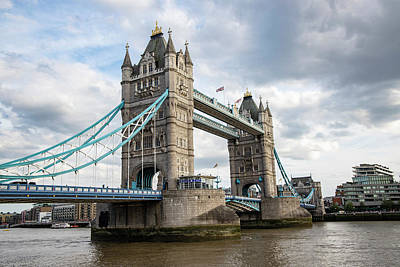 Photograph - Tower Bridge In London Day  by John McGraw