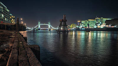 Photograph - Tower Bridge by James Billings