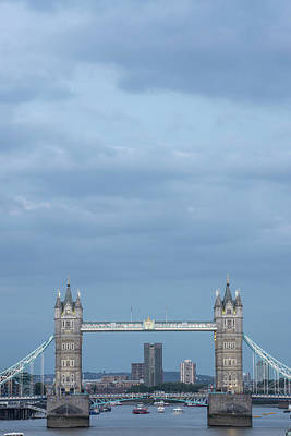 Photograph - Tower Bridge London Blue Hour  by John McGraw