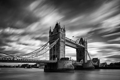 Bridge Wall Art - Photograph - Tower Bridge, River Thames, London by Jason Friend Photography Ltd