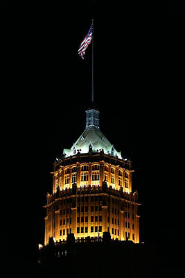 Photograph - Tower Life Building by Debi Dalio
