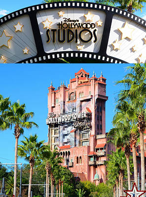 Twilight Zone Wall Art - Photograph - Tower Of Terror Poster A by David Lee Thompson