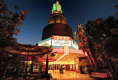 Photograph - Tower Theater- by JD Mims