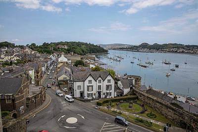 Photograph - Town Of Conwy In Wales  by John McGraw