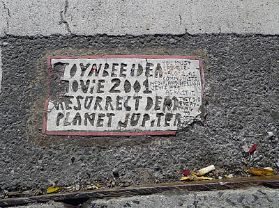Photograph - Toynbee Tile Nyc by Richard Reeve