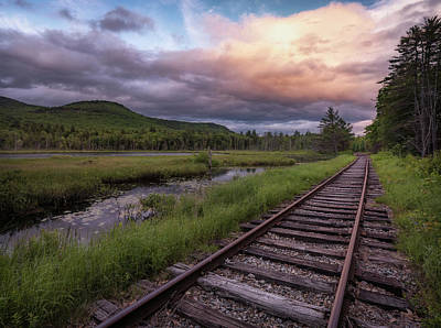 Photograph - Tracks Through The Mountains by Darylann Leonard Photography