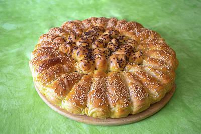 Fleetwood Mac - Traditional croatian Pogaca cake bread view by Brch Photography