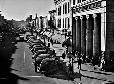 Painting - Traffic On The Main Street Of Fayetteville, North Carolina At About Five O'clock, When The Workers S by Celestial Images
