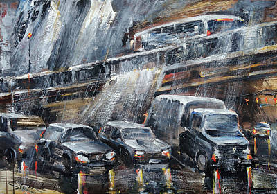 Painting - Traffic by Stefano Popovski