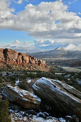 Photograph - Trail Of The Serpent At East Entrance Of Colorado National Monument by Ray Mathis