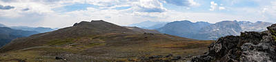 Photograph - Trail Ridge Road Arctic Panorama by Nicole Lloyd