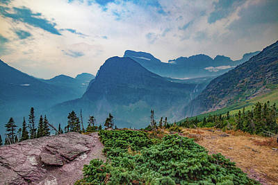 Photograph - Trail To Grinnell Glacier by Lon Dittrick