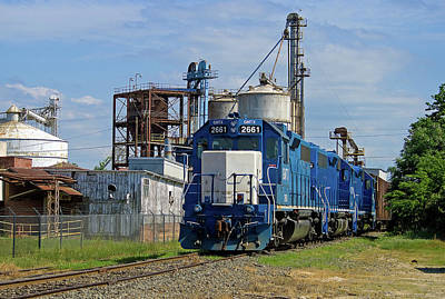 Photograph - Train @ Adm In Kershaw Color 21 by Joseph C Hinson Photography