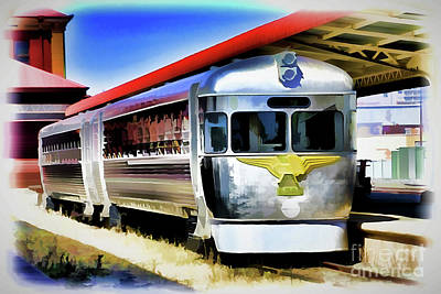 Painting - Train A18-64 by Ray Shrewsberry