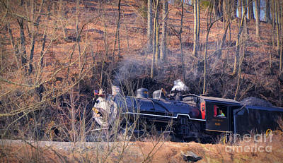 Photograph - Train Art - The Southern 630 Steam Locomotive  by Kerri Farley