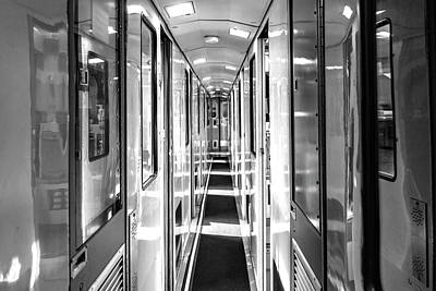 Photograph - Train Corridor by Sharon Popek