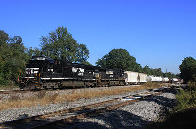 Photograph - Train In Cayce 10 by Joseph C Hinson Photography