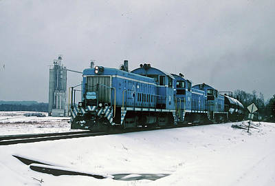 Photograph - Train In The Snow 32 by Joseph C Hinson Photography