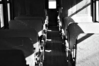 Photograph - Train Passenger by Will Campbell