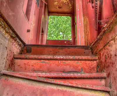 Photograph - Train Stairs by Jean Noren