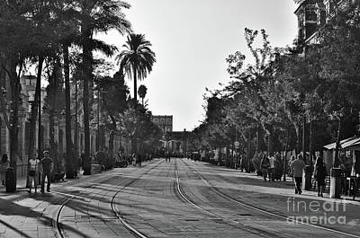 Photograph - Train Track In Seville by Angelo DeVal