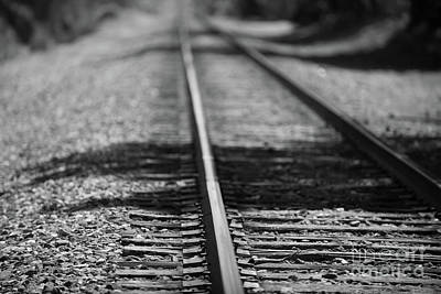 Photograph - Train Tracks - Summerville by Dale Powell