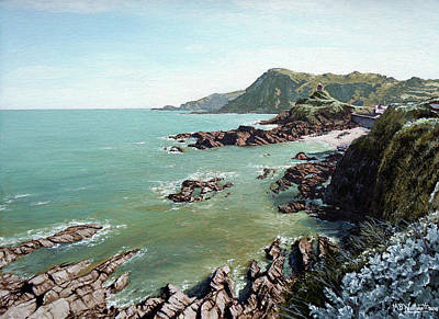 Painting - Tranquil Light, Ilfracombe by Mark Woollacott
