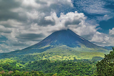 Arenal Photograph - Tranquil Storm Arenal Volcano by Betsy Knapp