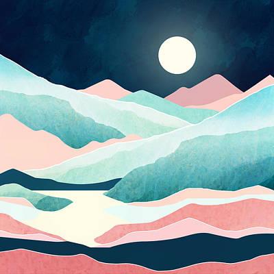 Digital Art - Tranquil Vista by Spacefrog Designs