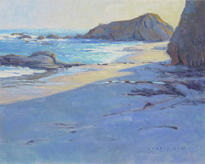 Painting - Tranquility / Laguna Beach by Konnie Kim