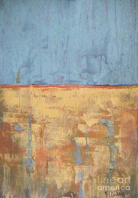 Wall Art - Painting - Tranquility Of Wheat Field by Vesna Antic