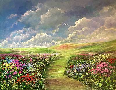 Painting - Transcend To Dreams by Randy Burns