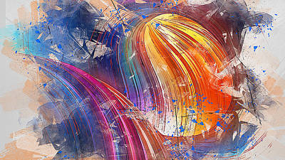 Painting - Transform - 01 by Andrea Mazzocchetti