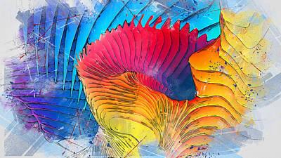 Painting - Transform - 02 by Andrea Mazzocchetti