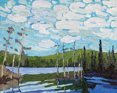 Painting - Trappers Bay by Phil Chadwick